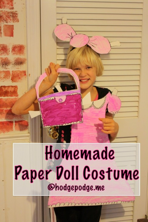 Homemade Paper Doll Costume: Frugal Living