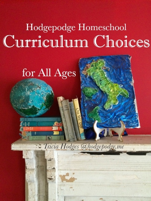 Homeschool Curriculum Choices at Hodgepodge